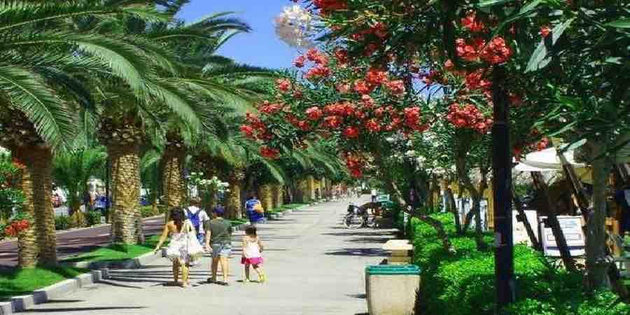Jardines públicos mediterráneos
